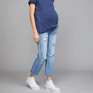 Boyfriend Maternity Jeans Pea in the Pod